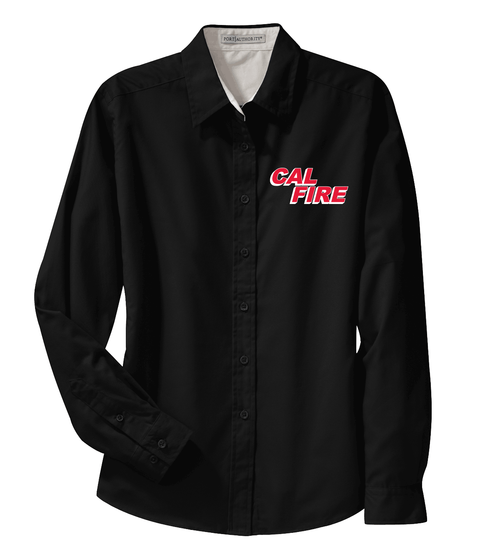 CAL FIRE Ladies Button Down Shirt