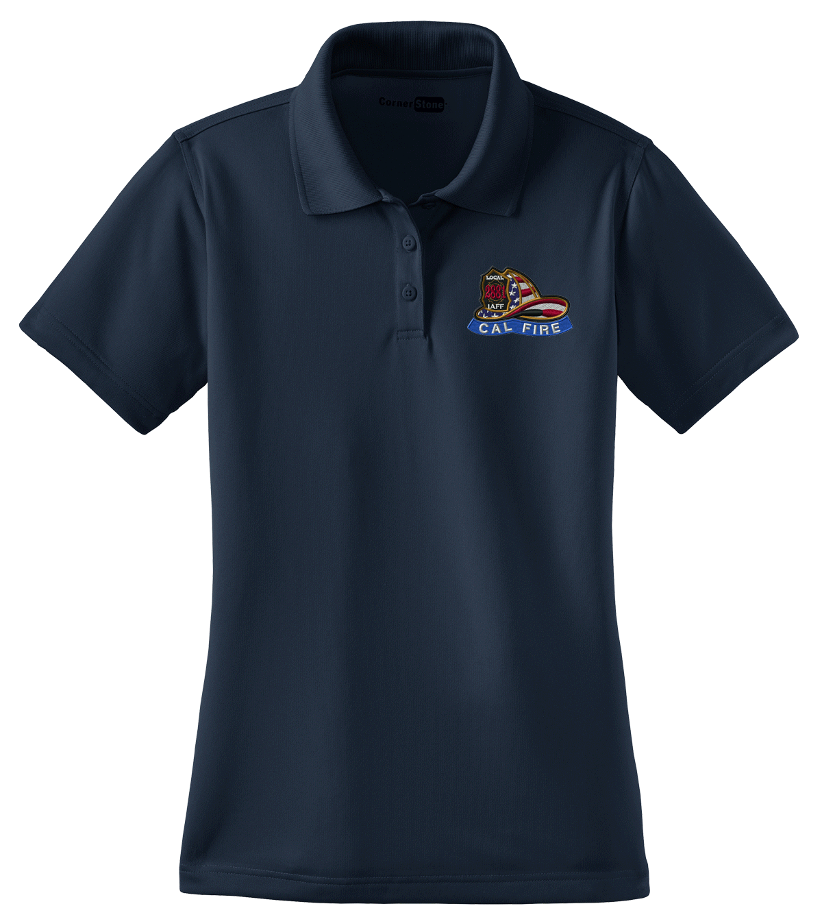 Local 2881 Ladies Tactical Polo