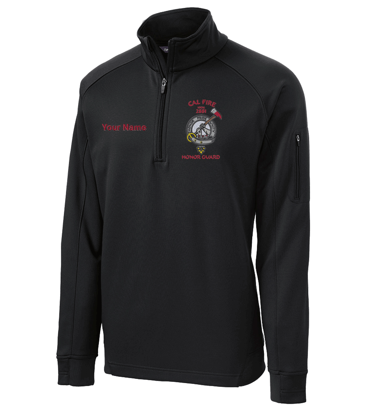 Honor Guard Fleece Pullover
