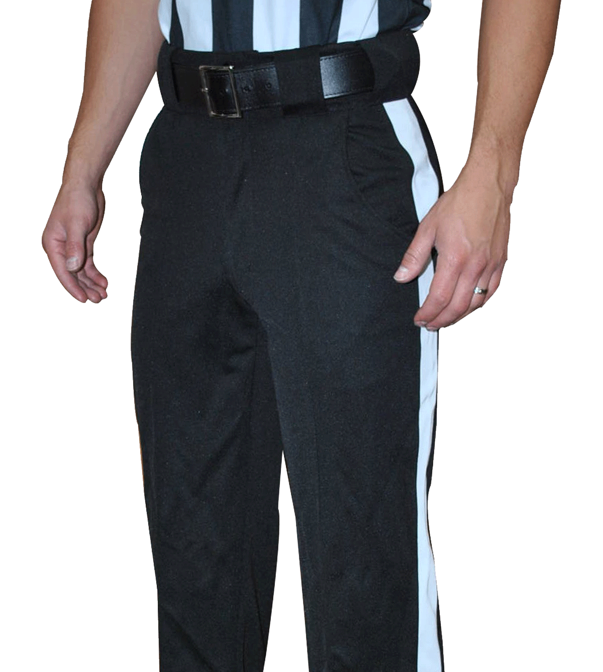 SMITTY Black Warm Weather Officials Pant