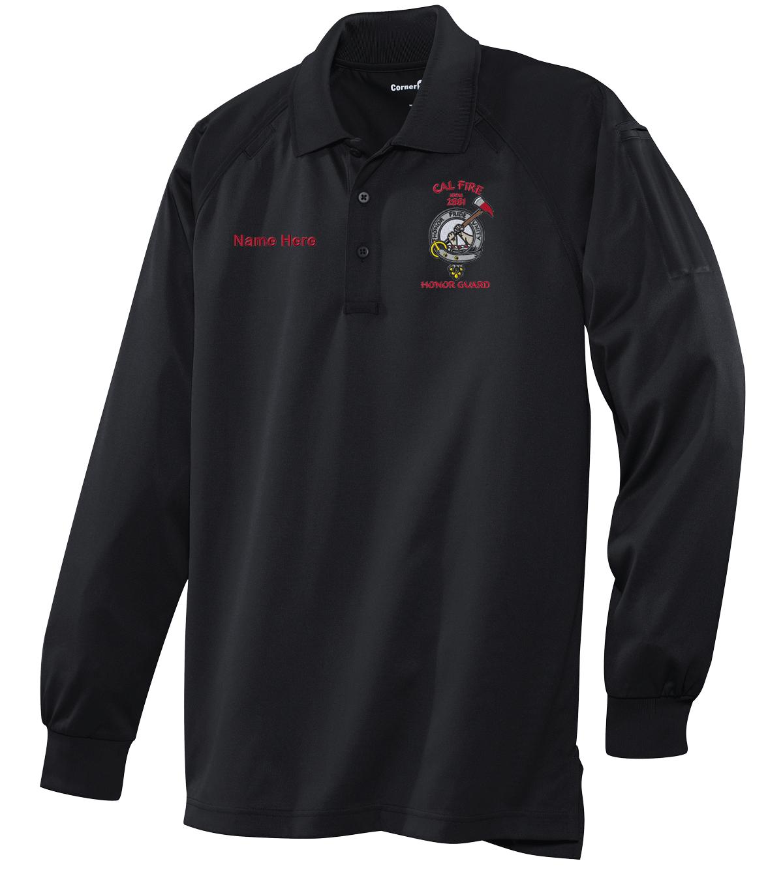 Honor Guard Long Sleeve Polo