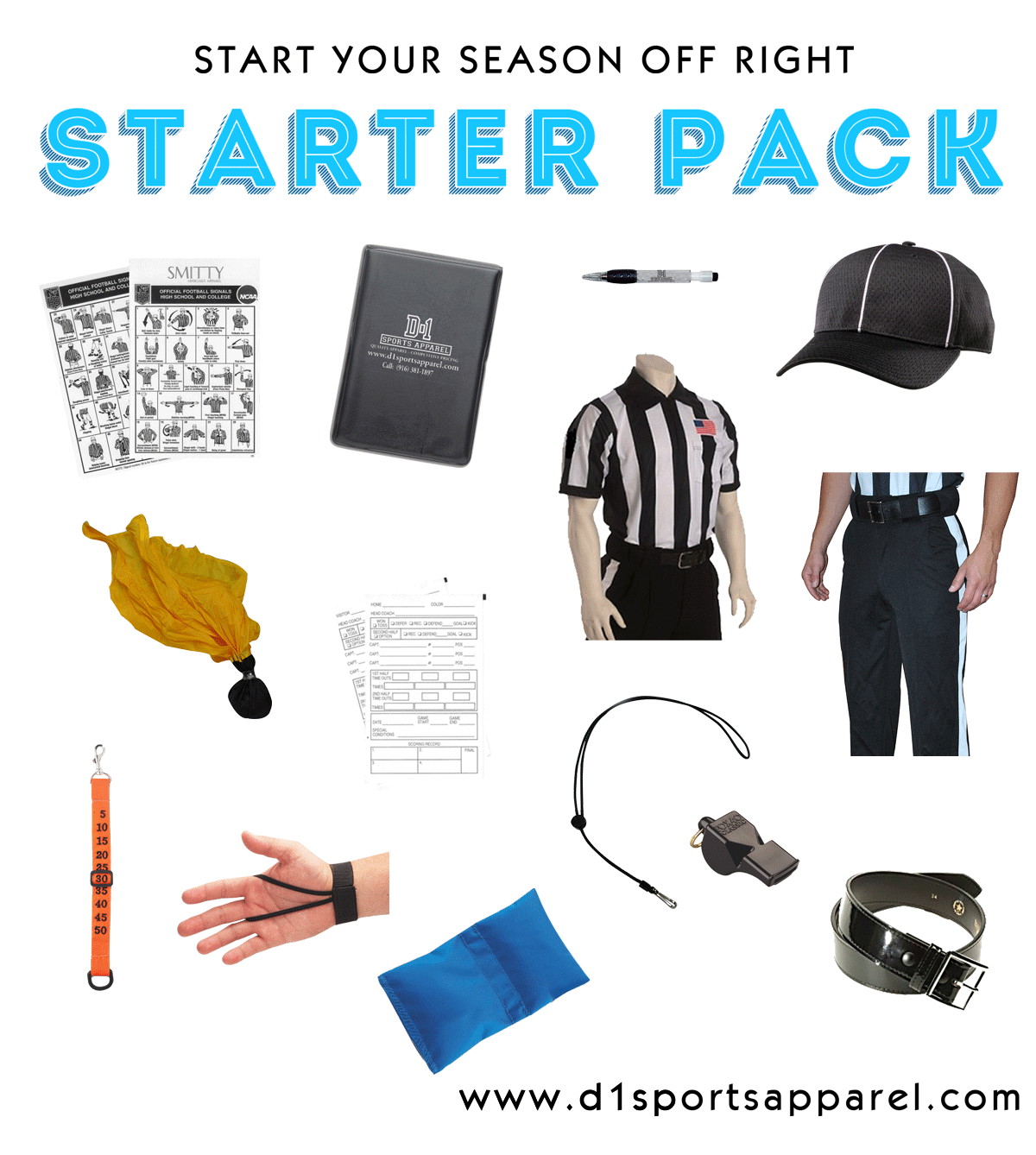 Football Officials Starter Pack