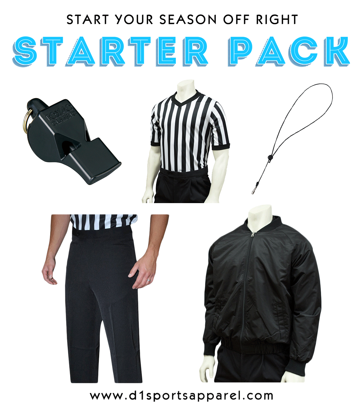 Basketball Officials Starter Kit