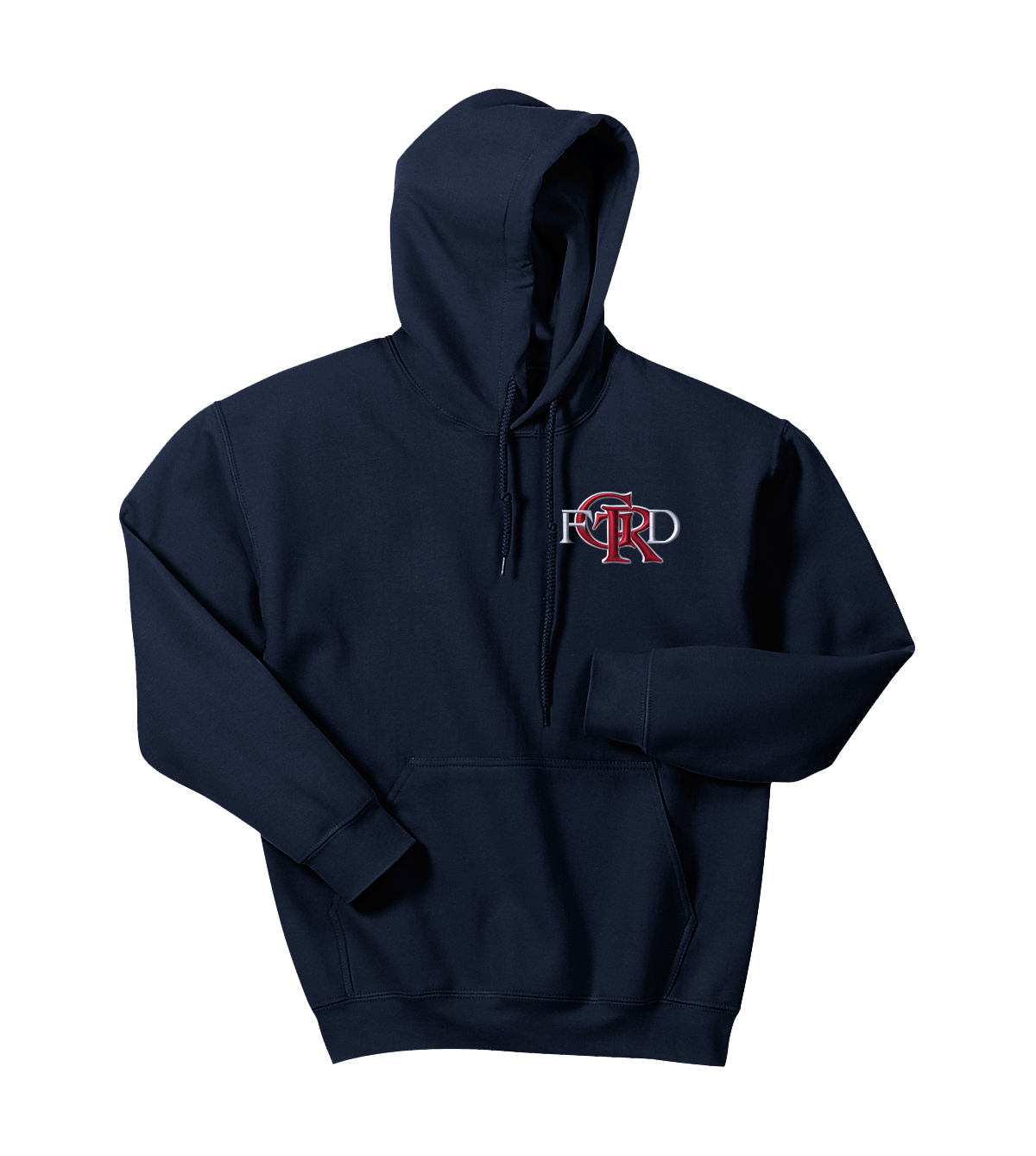 Gold Rigge Fire Pullover Hoodie