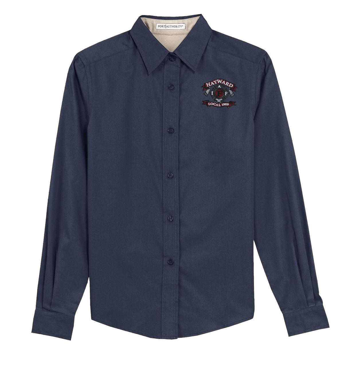 1909 Ladies L/S Button Down Shirt