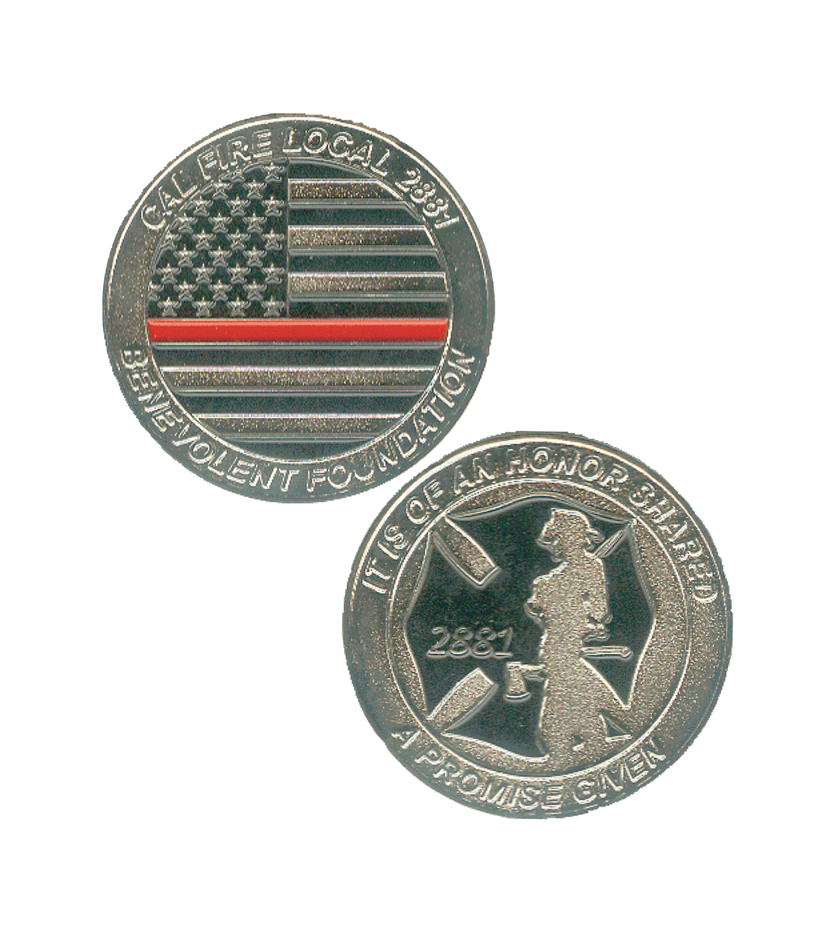 No One Left Behind Challenge Coin