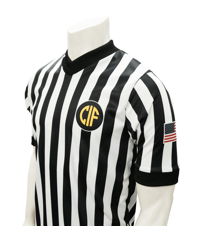 SMITTY Dye Sub CIF Logo Shirt w/USA Flag