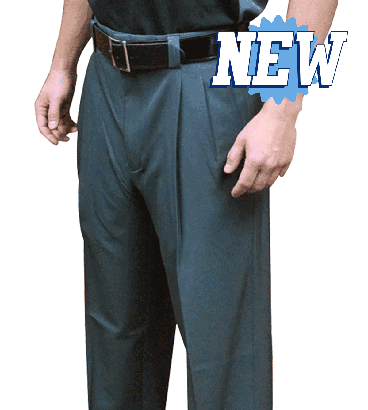 SMITTY 4-Way Stretch Expander Waist Pleated Plate Pant