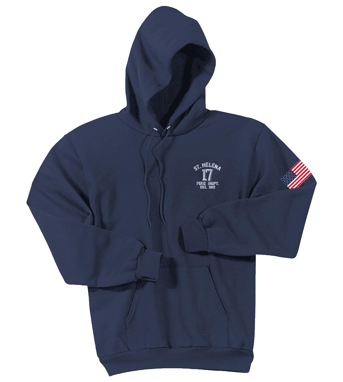 St. Helena Pullover Hooded Sweatshirt