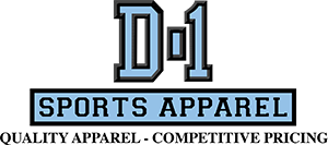 D-1 Sports Apparel Logo