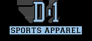 D-1 Sports Apparel Logo