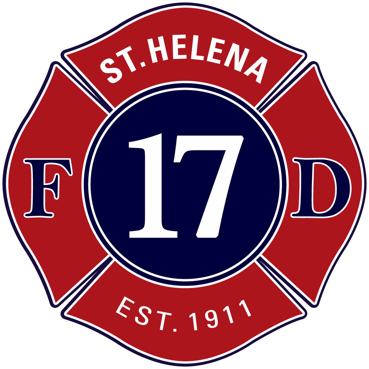 St. Helena Fire Department Company Store Logo