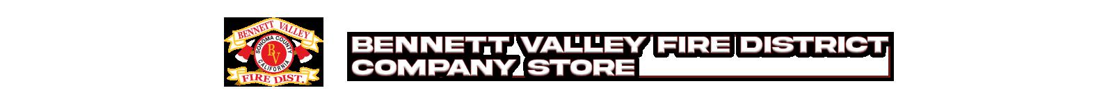Bennett Valley Fire Company Store Logo