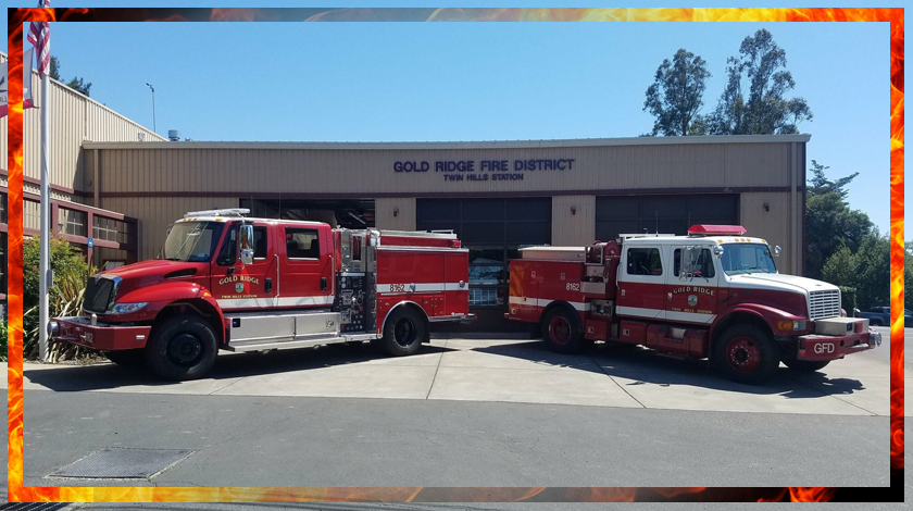 Welcome to the Gold Ridge Fire Company Store